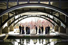 You can recreate this breathtaking shot by having your wedding ceremony & reception at the Gwinnett Environmental Heritage Center in Atlanta! This unique venue has a large capacity and stunning views. See them and what they have to offer at our #AtlantaPWG show on Feb.16!