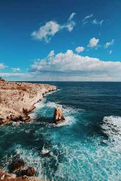 Untitled by Databhi// Nature, Landscape, Sea, Ocean, Waves, Rocks, Coast, Travel, VSCO, Myuploads