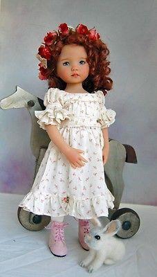 "Dianna Effner's Little Darling #2 ""Fisher Jean"" pintado por Joyce Mathews"