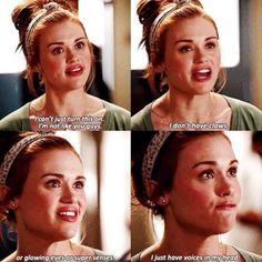 Teen Wolf - Lydia. My heart cracked a little in this scene