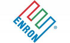 Enron logo Corporate Logo Design, Corporate Identity, Identity Design, Visual Identity, Brand Identity, Paul Rand Logos, Rand Paul, Postmodernism, Type Design