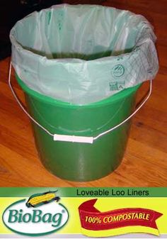 BioBags will make emptying our composting toilet a far more pleasant experience. #toilet