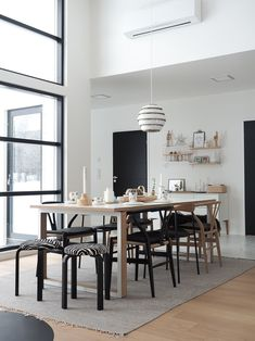 Dining Area, Dining Room, Dining Table, Marimekko, My House, Beautiful Homes, Aalto, Interior Design, Architecture