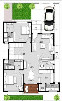 House Plan Maker, 2bhk House Plan, Free House Plans, Model House Plan, House Layout Plans, Duplex House Plans, House Layouts, House Floor Plans, Home Plans