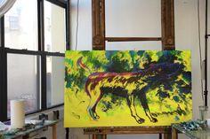 """Canis Major"" by Iris Scott. #workinprogress"