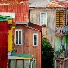 Photo by @hellokrisdavidson  The colorful cliff top homes of Valparaíso Chile exude whimsy and storybook charm. The city feels as if it has been designed and colored by an army of exuberant 5-year olds armed with a box of crayons. Even acclaimed poet Pablo Neruda found inspiration there having made a home in the hills and penning a poem titled Ode to Valparaíso. #Chile #Valparaíso by natgeotravel