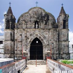 10 old cemetery chapels you shouldn't miss - Simbahan Sacred Architecture, Filipino Architecture, Old Cemeteries, Square Photos, Flash Photography, Spanish Colonial, Photo Checks, Place Of Worship, Best Memories