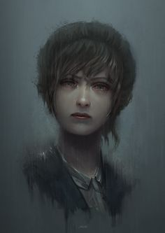 "Art by yoshiyaki Kate ""Life is Strange"" https://yoshiyaki.deviantart.com/art/Why-612680944"