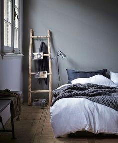 HOME INSPIRATION: Ladders als 'kast'   I LOVE FASHION NEWS