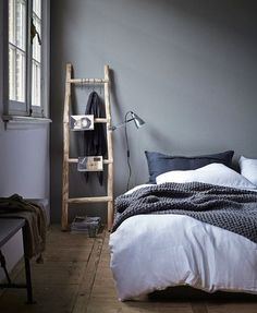 HOME INSPIRATION: Ladders als 'kast' | I LOVE FASHION NEWS