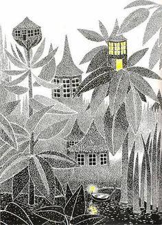 Bilderesultat for Tove Jansson illustration