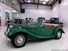 1954 MG TF ROADSTER    Daniel Schmitt & Co.  www.schmitt.com  314.291.7000