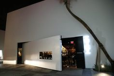 Dramatic facade of new restaurant hot spot in Miami, Chotto Matte www.miamicurated.com