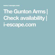 The Gunton Arms | Check availability | i-escape.com