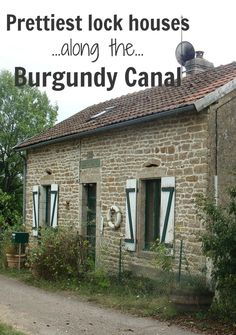 Within easy walking distance or a shuttle bus ride from the Burgundy Canal, there are seven châteaux, eleven churches, two abbeys, two of France's 'most beautiful villages' and dozens of museums and historic buildings to visit. But there's no need to leave the towpath—here are some of the prettiest lock-houses right on the canal!