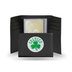 Boston Celtics NBA Embroidered Trifold Wallet