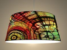 designer lamp with print Shops, Designer, Etsy, Ceiling Lights, Lighting, Pendant, Home Decor, Chandelier, Homemade Home Decor