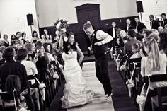 Jesse and Moriah: that's the way you hit the recessional!