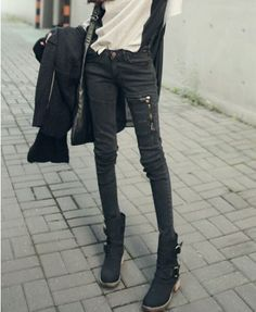to look good in skinny jeans