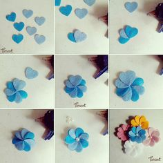Simple Fabric Crafts You Can Make From Scraps - Diy Crafts Paper Flowers Diy, Handmade Flowers, Flower Crafts, Fabric Flowers, Felt Crafts Diy, Felt Diy, Fabric Crafts, Wreath Crafts, Felt Flowers Patterns