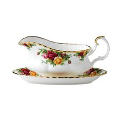 Old Country Roses Gravy Boat Stand- I need the gravy boat as well.