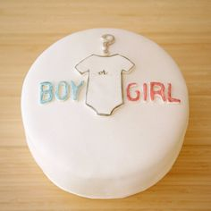 Reveal the Gender - Make it a shower and gender reveal party all in one by baking a simple gender reveal cake. Guests will love to be part of that special moment, and it's sure to perk up the party.  Source: Sweet Kiera
