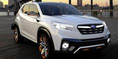 New Subaru 3-Row crossover, New Subaru 7-passenger SUV