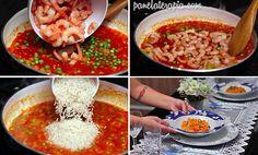 PANELATERAPIA - Blog de Culinária, Gastronomia e Receitas: Arroz com Camarão http://www.panelaterapia.com/2015/02/arroz-com-camarao.html