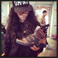 Teyana Taylor x adidas Originals Harlem GLC Adidas Men, Adidas Sneakers, Adidas High Tops, Tomboy Chic, Teyana Taylor, Swagg, Shoe Game, Shoe Brands, Adidas Originals