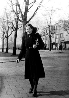 "Hannie Schaft (aka ""the Girl with the red hair""). responsible for the assassination of five collaborators. Hitler himself had demanded her arrest, urging the Sicherheitsdienst to find her. Hannie was born in Haarlem, The Netherlands on September 16, 1920. On April 17, 1945, less than three weeks before the liberation of the Netherlands, Hannie was shot by the Germans in the dunes near Overveen. She was only 24 years old."
