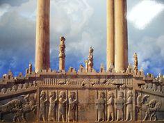 ancient city of Persepolis  Iran