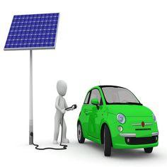 Energía solar: Estaciones de carga de vehículos