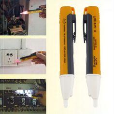 2017 1pc Electric Indicator Socket Wall AC 90-1000V Power Outlet Voltage Tester Detector Sensor Volt Test Pen LED Light Indicato  Price: 2.68 USD