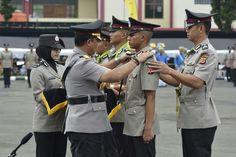 Kapolda Jawa Barat Tutup Pendidikan dan Pembentukan Brigadir Polri Tahun 2017 di SPN Cisarua