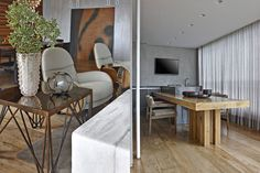 Дизайн интерьера квартиры LA от архитектора David Guerra / CURATED.ru