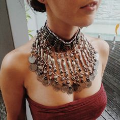 Vintage Kuchi tribal fish choker necklace - $85 - http://www.lostlover.com.au/products/vintage-kuchi-tribal-fish-choker-necklace