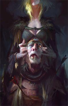 Resurrection – fantasy concept by Yuriy Chemezov