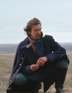 "Kevin Costner as Lieutenant Dunbar in ""Dances with Wolves"" (1990)"