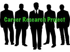 Career Research Project-- high school students take an interest inventory, identify careers to research, use the occupational outlook handbook to research the careers, and reflect on their research