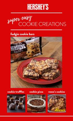When you want to bake cookies but not spend all day in the kitchen, look to these cookie recipe ideas. Each one has few ingredients and simple prep, so you can go from baking to savoring in no time. Easy Cookie Recipes, Sweet Recipes, Dessert Recipes, Milk Cookies, Yummy Cookies, Holiday Baking, Christmas Baking, Super Cookies, Christmas Desserts