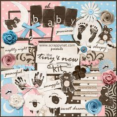 Tuesday's Guest Freebies -Scrappy Nat ***Join 1,580 people and follow our Free Digital Scrapbook Board. New Freebies every day.