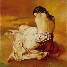 Artiste Karol BAK - (page - Menelwenaart Figure Painting, Painting & Drawing, Life Drawing, Female Art, Oil On Canvas, Fantasy Art, Graphic Art, Cool Art, Street Art