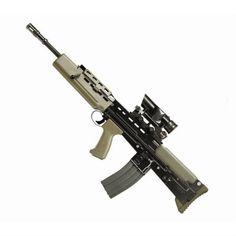 Shop online for G&G AEG Airsoft Rifle. Shooting Bench, Assault Rifle, Airsoft Guns, Paintball, Firearms, Weapons, Guy Stuff, Rifles, Metal