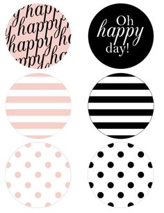 happy stripes banner pieces