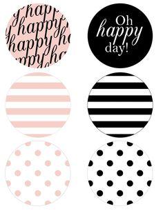 happy stripes banner pieces
