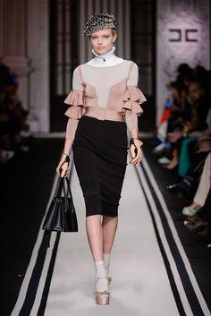 Sfilata Elisabetta Franchi Milano - Collezioni Autunno Inverno 2017-18 - Vogue