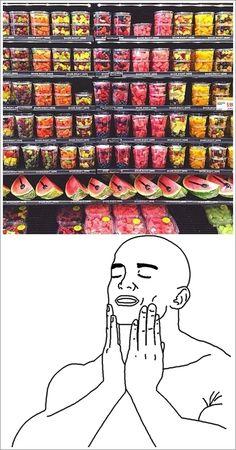 ¿Quién dijo que comer frutas no es divertido?        Gracias a http://www.cuantocabron.com/   Si quieres leer la noticia completa visita: http://www.estoy-aburrido.com/quien-dijo-que-comer-frutas-no-es-divertido/