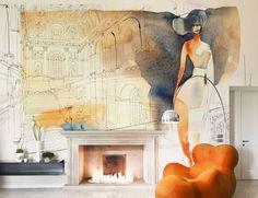 Watercolor for Wallpaper