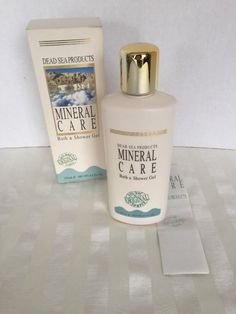 Dead Sea Mineral Care Bath & Shower Gel 8.5 fl oz 250 Ml New in Box #DeadSeaProduction
