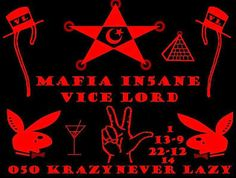 Vice Lords, Blood Wallpaper, Graffiti Cartoons, Chicago City, Red Bandana, Black History, Mobsters, Drawings, Gangsters